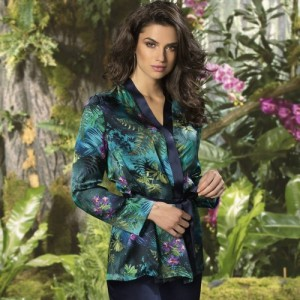 Lise Charmel Foret Lumiere ALG3409 Kimono Foret Fougere
