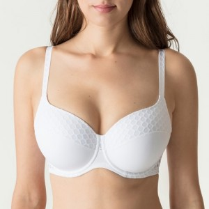 Primadonna Twist Honey 241731 Padded bra Heart shape White