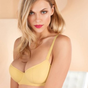 Epure Lise Charmel Coton Plaisir PCP3155 Half cup Balcony Padded Sorbet Vanille