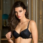 Lise Charmel Caresse Fougere ACC8596 Push up  Noir Saphire