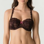 Primadonna Twist Caramba 241423 Padded bra Balcony Chocolate