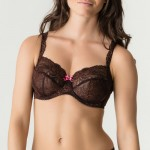 Primadonna Twist Caramba 141421 Full cup Wire bra Chocolate