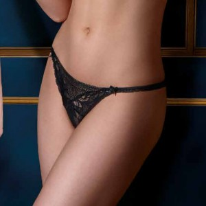 Lise Charmel Transparence Desir ACC0570 String Sexy Black