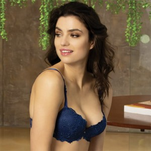 Lise Charmel Dressing Floral ACC8588 Push up Dressing Bleu