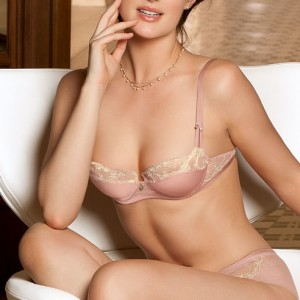 Lise Charmel Swinging Deco ACC6081 Balcony Full Cup Rose Ecume