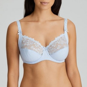 Primadonna Deauville 161811 Full Cup Wire Bra Heather Blue