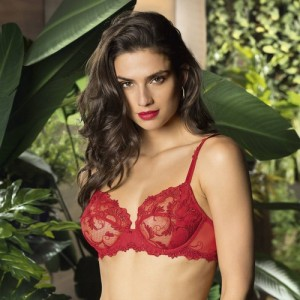Lise Charmel Dressing Floral ACC6088 Full cup Balcony Dressing Solaire
