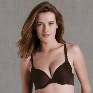 Simone Perele Muse 12C362 Padded plunge cup Cacao