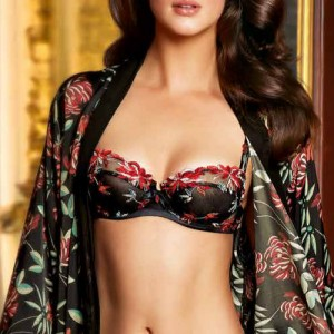 Lise Charmel Arty Flower ACC6040 Balcony Full Cup Nuit Floral