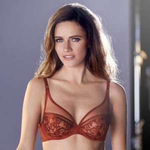 Simone Perele Byzance 14D319 Full Cup Plunge Amber