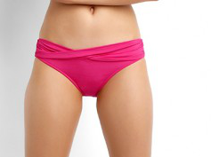 Seafolly S4320-065 Goddess Twist Band Hipster Red Hot