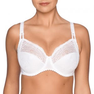 Primadonna Delight 162761 Full cup wire bra White