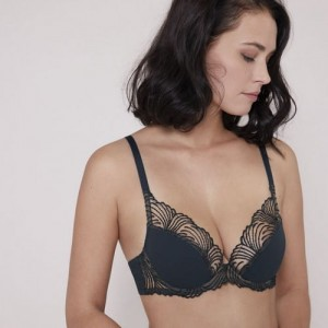 Simone Perele Nuance 12N347 Push-up Triangle Gravity Grey
