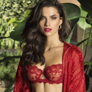 Lise Charmel Dressing Floral ACC3088 Half cup Balcony Dressing Solaire
