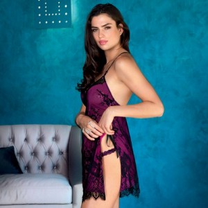 Lise Charmel Sexy Sortilege ALC1715 Koszulka Babydoll Night Dress Sortilege Corail