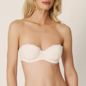 Marie Jo Bella 102258 Padded bra Strapless Pearled Ivory